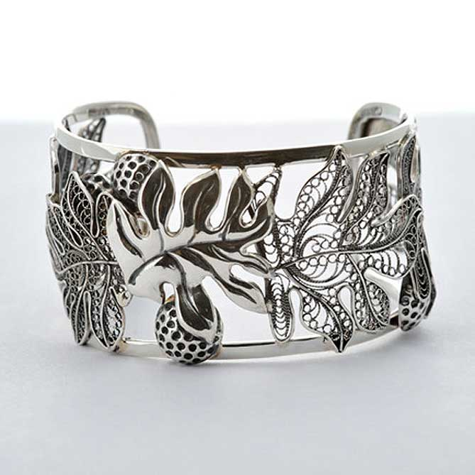 Sterling Silver Cuff by Paradisus