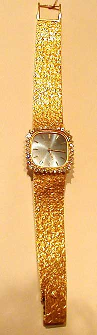 Gold Watch by Patek Philippe
